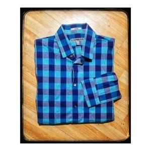 Men's Express button up dress shirt- long sleeved